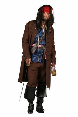 THE - Herren Kostüm Piratenkapitän Pirat Karneval Fasching ()