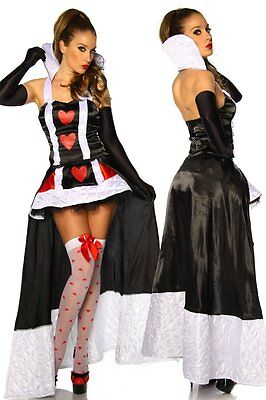 Sexy 2-tlg. Set Karneval Kostüm Kleid