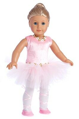 Prima Ballerina - Ballet Doll Outfit for 18