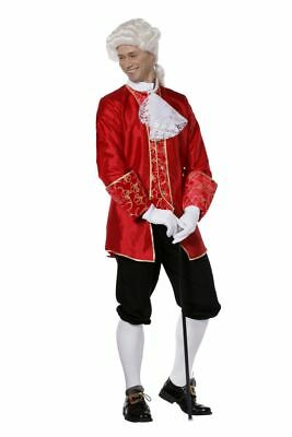 WIL - Historisches Herren Kostüm Barock rot Karneval -