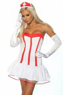 Schwester Krankenschwester Kostüm Damen Gr M als Partnerkostüm zum - Damen Arzt Kostüm
