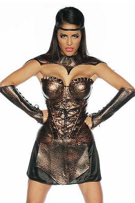 Gladiatoren Kostüm Fasching Sexy Halloween Karneval Damen Römer Verkleidung - Neue Sexy Kostüm