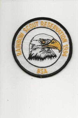 RAINBOW COUNCIL /  1994 Summer Camp patch - Boy Scout BSA A132/7-4