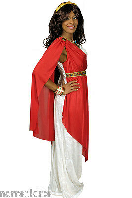 Römerin Griechin Helena Daphne Kleid Kostüm Toga Göttin Damen Gladiatorin Römer