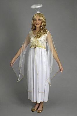 Kleid Engel Lucia 1tlg. Kostüm 36 38 40 42 44 Engelkostüm Krippenspiel