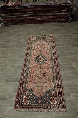 Unique Tribal S Antique Runner Lori Shiraz Persian Rug Oriental Area Carpet 4X11