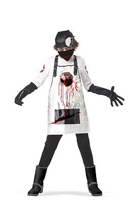 Zombie Doctor Open Heart Surgeon Child - Zombie Doctor Costume