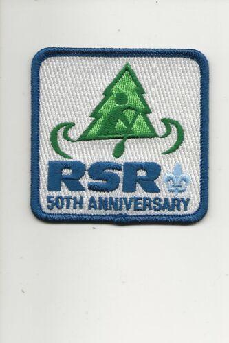 RAINBOW COUNCIL /  Summer Camp 50th Anniversary patch - Boy Scout BSA A132/7-4