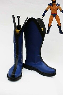 x-men Wolverine Cosplay Kostüme Schuhe Shoes Stiefel Boots Halloween Party Neu