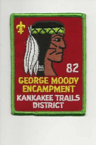 RAINBOW COUNCIL / KANKAKEE / GEORGE MOODY 1982 - Boy Scout BSA A132/7-24