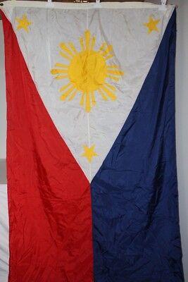 Fahne Phillippinen philipinische Flagge Nationalflagge mit 2 Ösen 125 x 290 cm