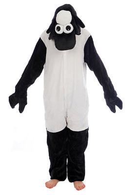 Halloween Schwarz Schaf Onesiee Kostüm Pyjamas Body