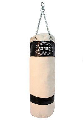 Last Punch Heavy Duty Black Punching Bag with Chains 162BK-M