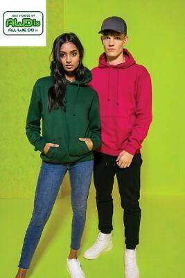 Just Hoods AWDis Hoodie Pullover Sweatshirt mit Kapuze  2XL - 5XL 60Farben TOP €