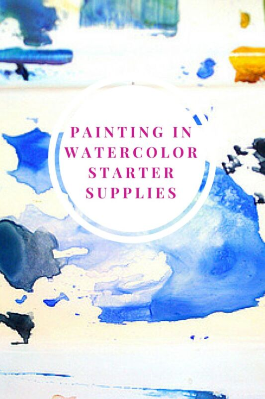 starter supplies painting in watercolor ebay