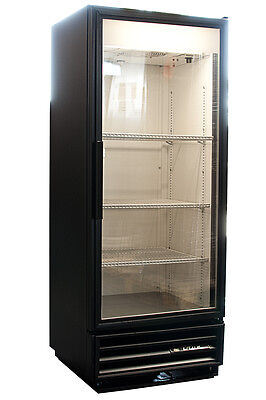 True GDM-12 Commercial One Glass Door Display Refrigerator Merchandiser