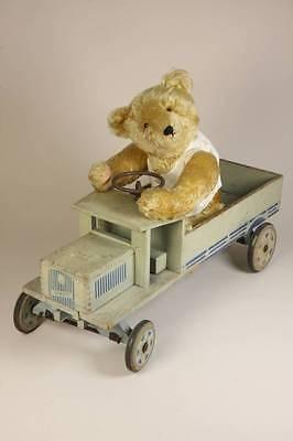 Steiff Lenk-Lastwagen, mit ID, nur 1939-41, Rarität, extrem selten