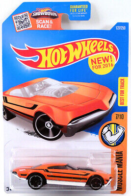 2016 Hot Muscle Speeder #127/250 [Orange] Muscle Mania 7/10