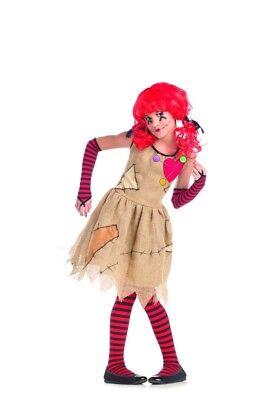 Voodoo Doll Girls Child Costume - Girls Voodoo Doll Costume
