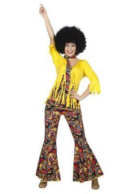 WIL - Damen Kostüm 60er Jahre Flower Power Hippie Karneval