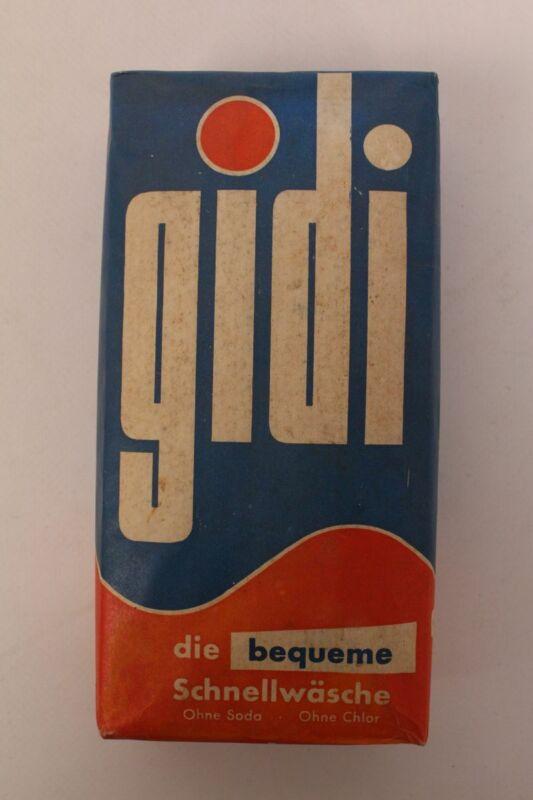 Gidi Washing Powder Detergent 396 Size Boxed Unopened Laundry Household
