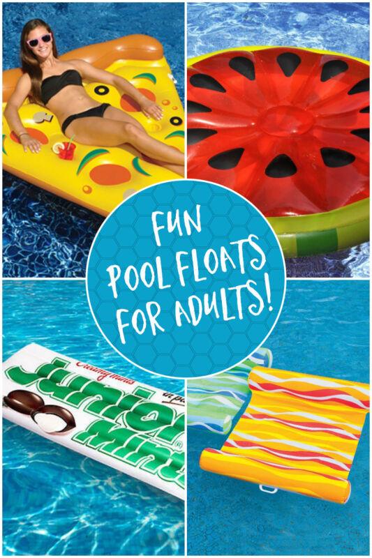 15 fun pool floats for adults ebay. Black Bedroom Furniture Sets. Home Design Ideas