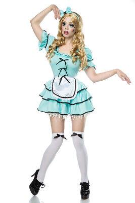 n Kostüm Halloweenkostüm Horror Fasching 80009 Gr XS-M (Halloween-kostüm Puppe)