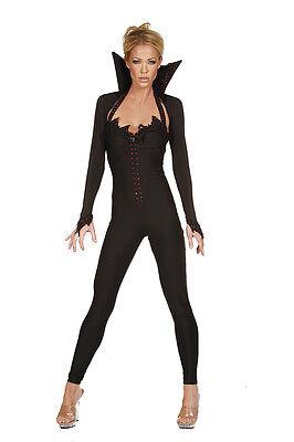 Halloween Kostüm Overall Anzug Vampir Gr. 32-34 S Fasching Karneval Fasnacht  ()