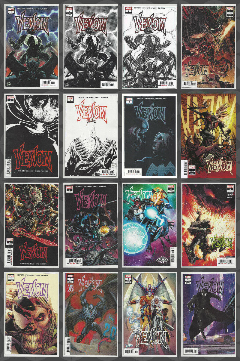 Details about VENOM #1 2 3 4 5 6 7 8 9 & MORE 1st PRINT MULTIPLE PRINTINGS  CHOICE 2018 NM- NM