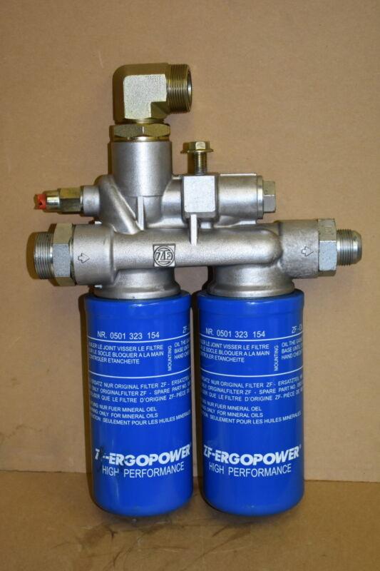 Filter head, Transmission oil filter housing, ZF, AT301540 John Deere