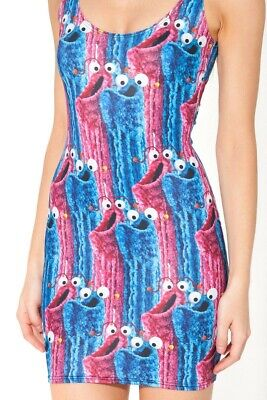 BlackMilk BNWT YIP YIP YIP DRESS XS - - Sesame Street Kleider