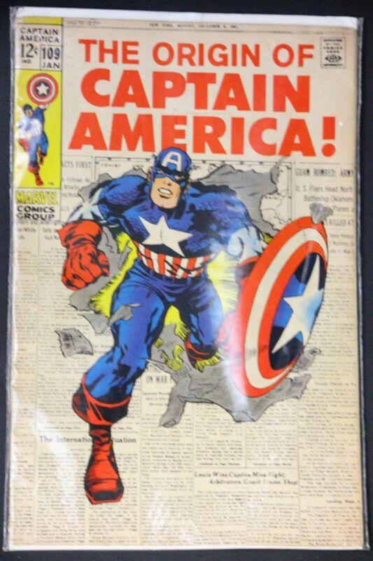 1968 #109 The Origin of Captain America!