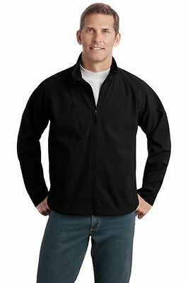 Microsoft Online Services Black Zip Logo Jacket Mens Xl New
