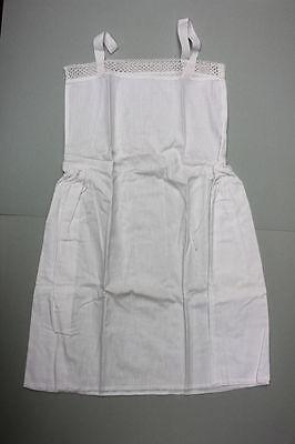 Antiker Mädchen Unterrock Unterhemd mit Spitzen