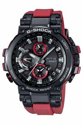 New Casio G-Shock Multi-Band 6 Atomic Connected Solar Powered MTGB1000B-1A4 Multi Band Atomic Solar Watch