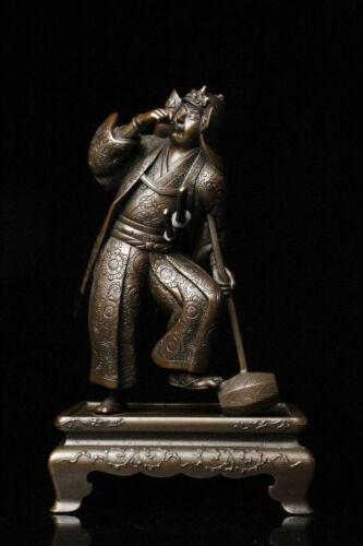 Miyao Eisuke Bronze Statue The Loyal Samurai Oishi Kuranosuke Yoshio Meiji