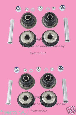 Pair Left+Right 2 Front Lower Inner Control Arm Bushing Repair Kit_for Mercedes