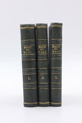 Rau, Heribert - Kaiser und Narr. Historischer Roman.  3 Bände