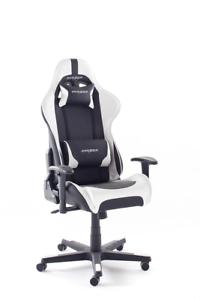 Woody Möbel Dxracer 6 Gamer Chair Bürostuhlschwarzweiß