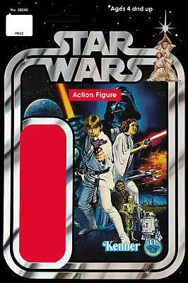 Star Wars Life Size Generic Action Figure Card Back Banner