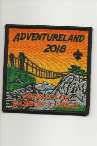 RAINBOW COUNCIL / ADVENTURELAND  2018 - Boy Scout BSA A132/7-24