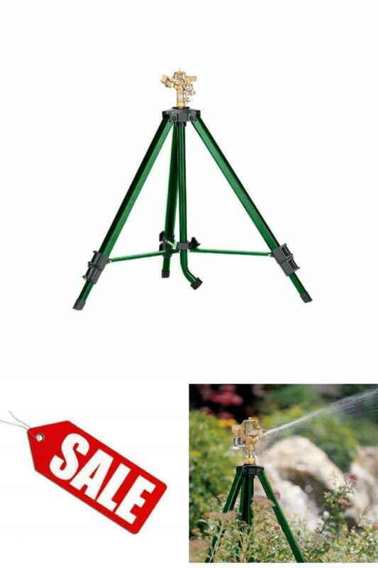 Orbit 58308 Tripod Base with Brass Impact Adjustable Plant W