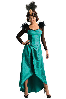 NEW!! DISNEY OZ THE GREAT & POWERFUL ADULT DELUXE EVANORA, SIZE XS, FAST SHIP!!
