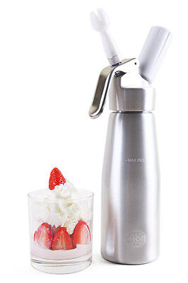 ICO Cream Whipper (500ml & 1L available) compatible with iSi, Liss and more Liss Cream Whipper