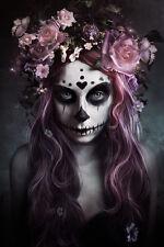 DIA DE MUERTOS -POSTER - 24x36 DAY OF THE DEAD GOTHIC HALLOWEEN 10585