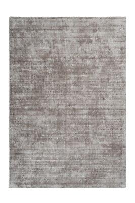 Handgefertigter Flach Teppich Viskose Uni Teppich Baumwolle Beige 160X230cm