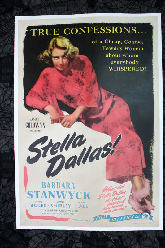 Stella Dallas - Barbara Stanwyck (1944) US One Sheet Movie Poster LB