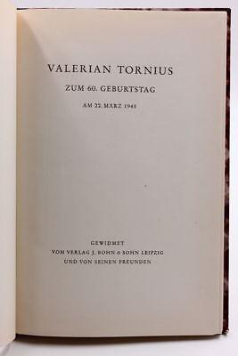 Valerian Tornius zum 60. Geburtstag am 22. März 1943. Gewidmet vom Verlag J. B