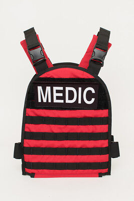 Red- Active Shooter Response  Vest!!  -ARMOR INCLUDED