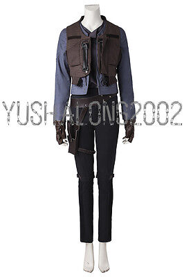 Rogue One A Star Wars Story Jyn Erso Cosplay Kostüm costume Kleid Outfit ()